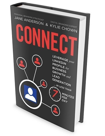 Jane Anderson Connect Book Leverage your LinkedIn Profile for Business Growth and Lead Generation