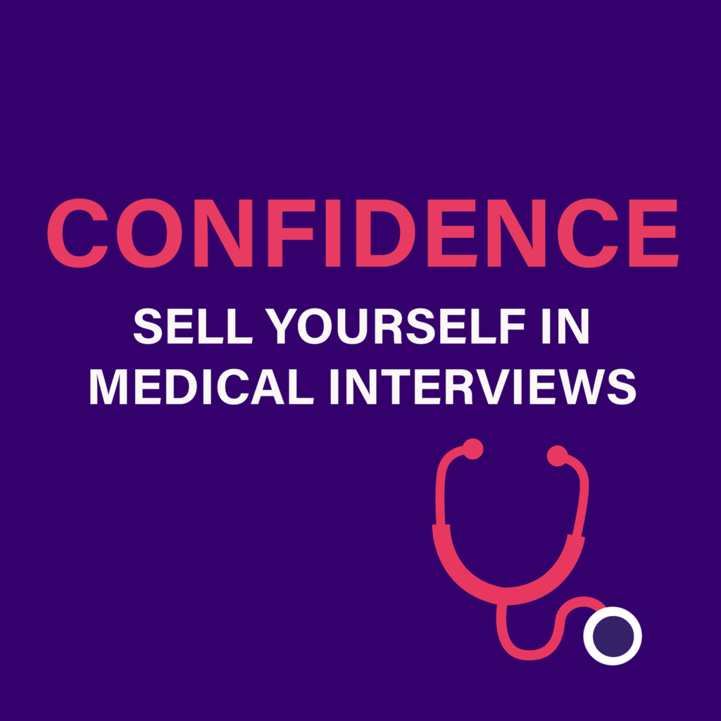 Confidence - Sell Yourself in Medical Interviews logo