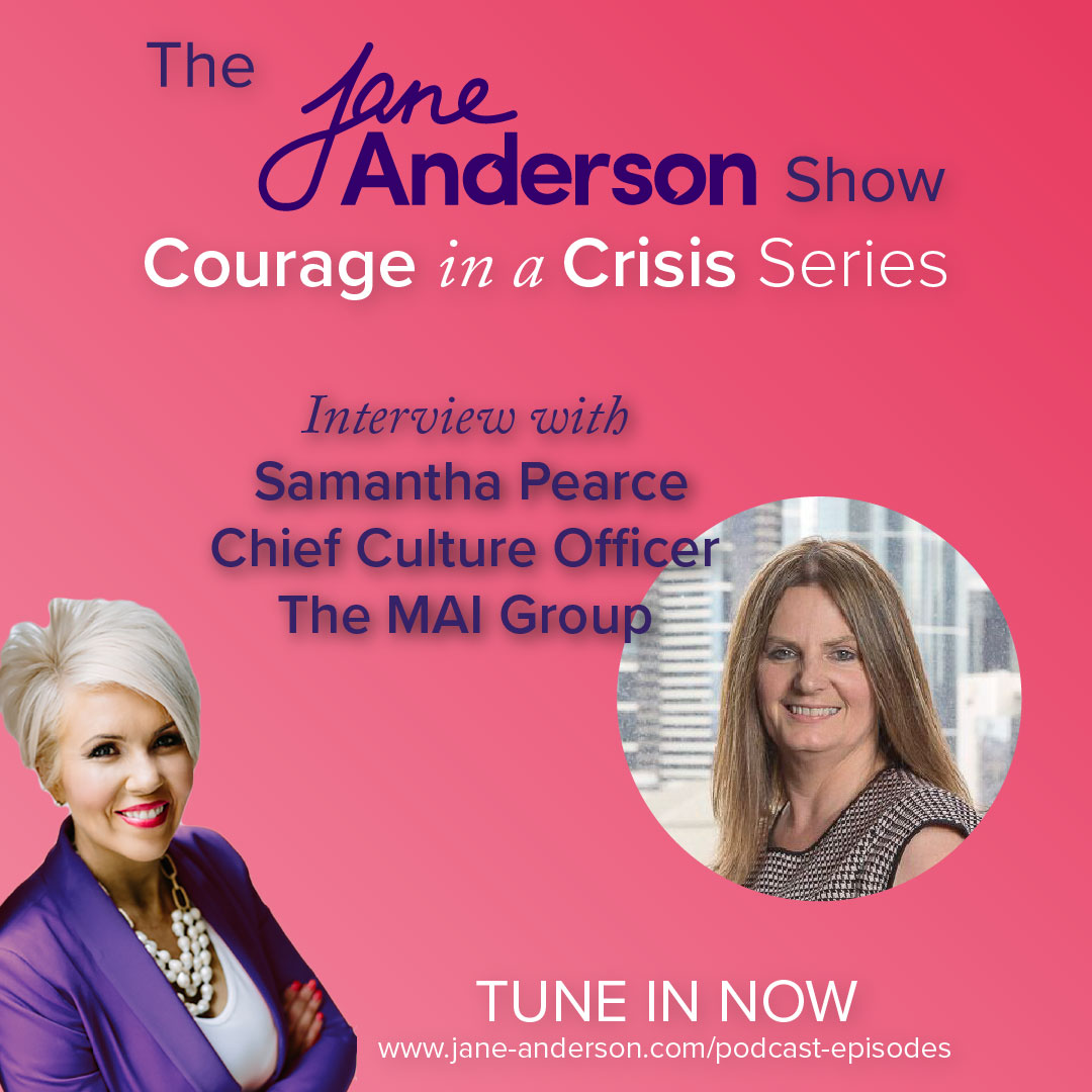 Podcast Image Sam Pearce - Courage in a Crisis